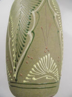 4932 Vintage Green Sandstone Mexican Vase close up side bottom-2736 x 3648.jpg