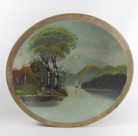 4933 Vintage Hand Painted Wooden Bowl Sailboat and Mountains- full front view-C-2454 x 2420.jpg