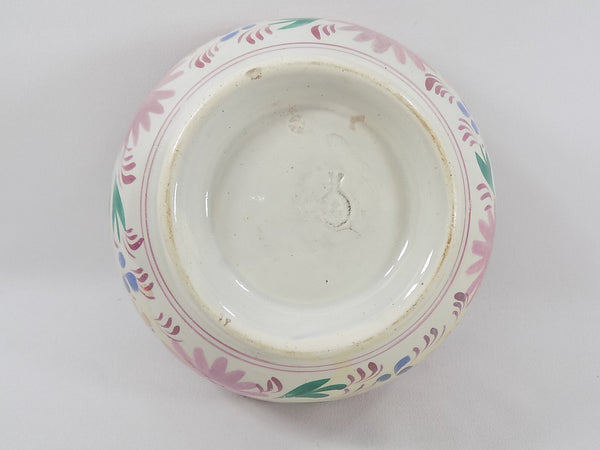 4939 Antique Pink Lustreware Lidded Waste Bowl full bottom view-1600 x 1200.jpg