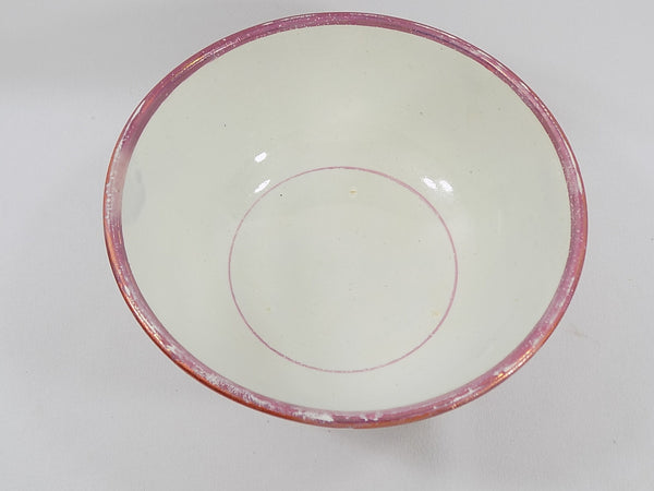 4939 Antique Pink Lustreware Lidded Waste Bowl inside bowl view-1600 x 1200.jpg