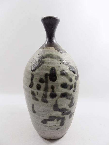 4953 Vintage Asian Style Pottery - Tall Weed Pot - Signed Dated 1977- 50-1704 x 2272.jpg