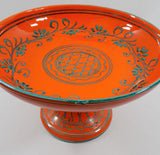 4989 Vintage MCM Italian Pottery Compote-bubble view on rim-1704 x 1649.jpg