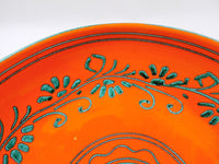 4989 Vintage MCM Italian Pottery Compote-close up design-2272 x 1704.jpg
