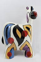 5044 Vintage Anatoly TUROV Zebra Figurine - Hand Painted Ceramic Limited Edition -  Signed With Original Label-full view-b-2656 x 3984.jpg