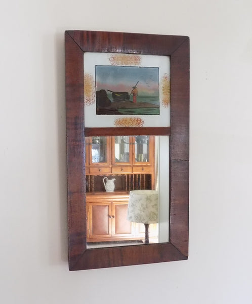 Antique Mirror with picture front view-hh-19-1983 x 2388.jpg