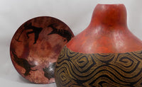 B Culp Metal Bowl with Cave paintings inside view-18-2-close up-2626 x 1613.jpg