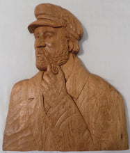 St.-Jean-Port-Joli Relief Wood Carving, Huge Plaque by Robert Guay /Quebec, Canada, Hand Carved White Oak, Signed and Dated 1988 Full View