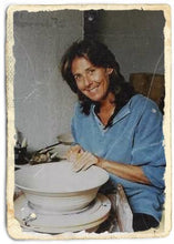 Carole Berhorst making her pottery
