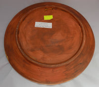 Rock Art (Arte Rupestre) Redware Wall Charger Dominican Republic Base  View