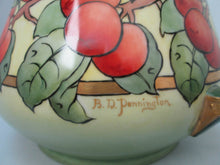 Antique  Bavarian China Hohenzollern Large Cider Pitcher Circa 1910-Signed