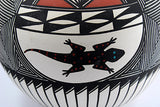 vintage native american pot acoma tribe signed j. garcia close up lizzard-3984 x 2656.jpg