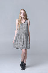BAISLEY BABYDOLL DRESS - HARPER KELLEY  - 2