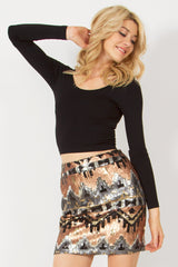MECCA SKIRT - HARPER KELLEY  - 3