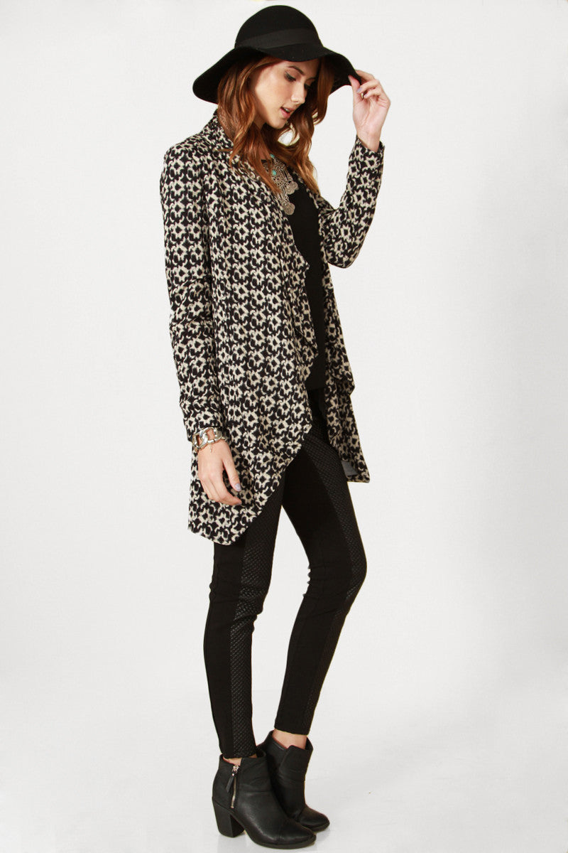 JAYDEN KNIT JACKET - HARPER KELLEY  - 4
