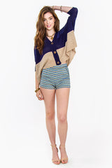 MAYAN CROP CARDIGAN - HARPER KELLEY  - 4