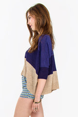 MAYAN CROP CARDIGAN - HARPER KELLEY  - 2