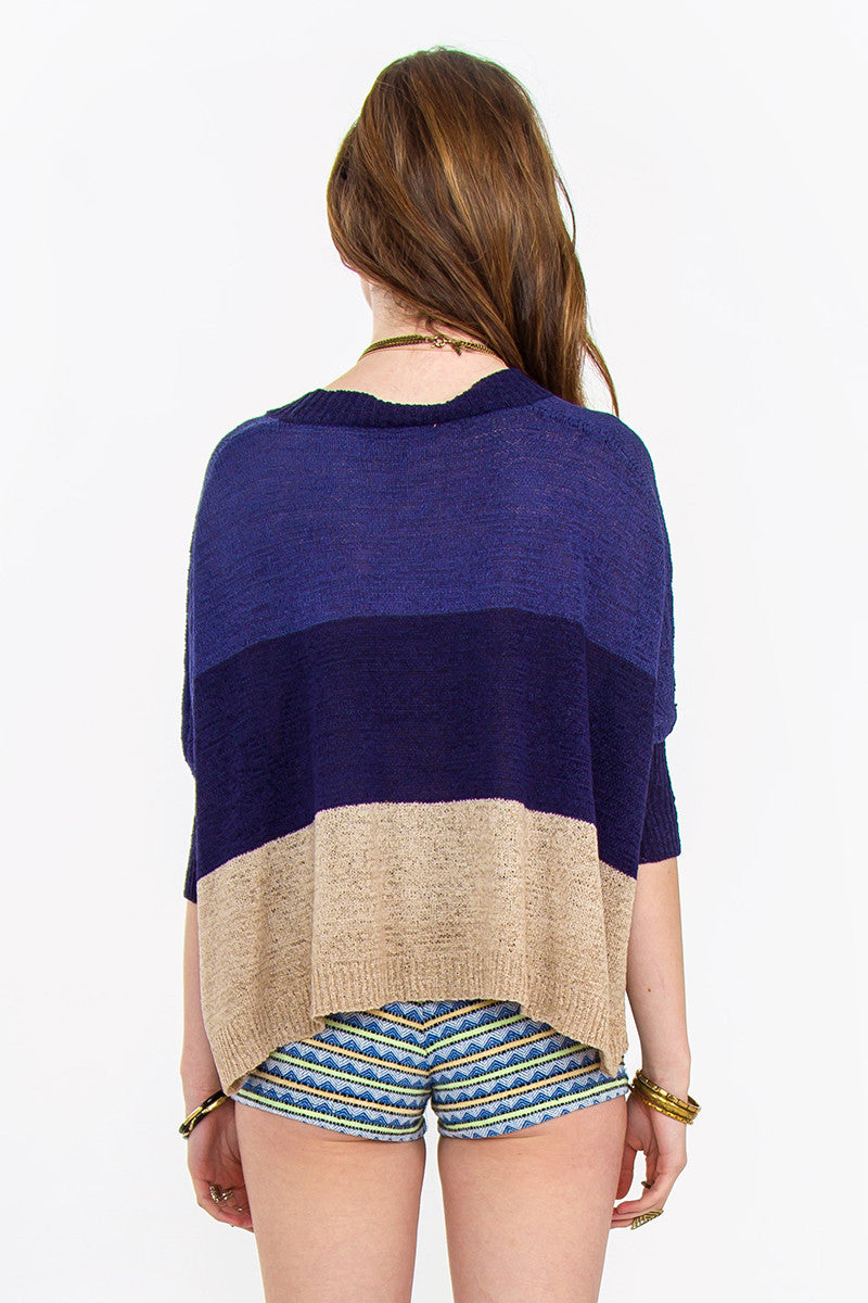 MAYAN CROP CARDIGAN - HARPER KELLEY  - 3
