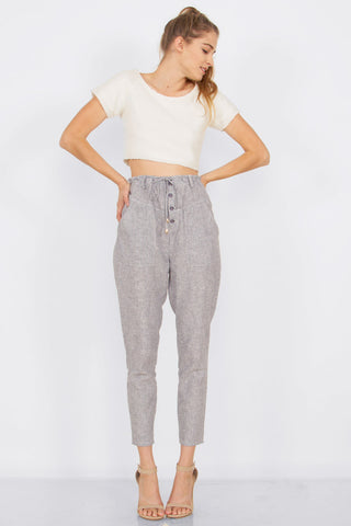 NAOMI TROUSER - HARPER KELLEY  - 1