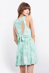 SAVANNAH PLUNGE DRESS - HARPER KELLEY  - 3