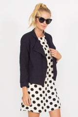 WAINSCOTT TWEED JACKET - HARPER KELLEY  - 1