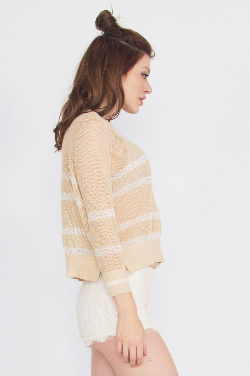 LINE UP CROP KNIT - HARPER KELLEY  - 2