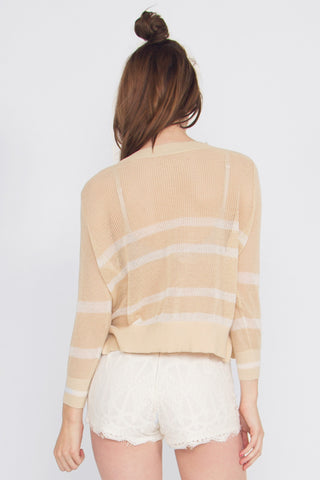 LINE UP CROP KNIT
