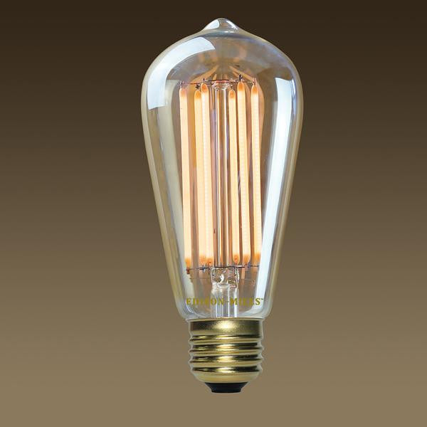 What is the difference between ST58 and ST64 LED Edison Bulbs?
