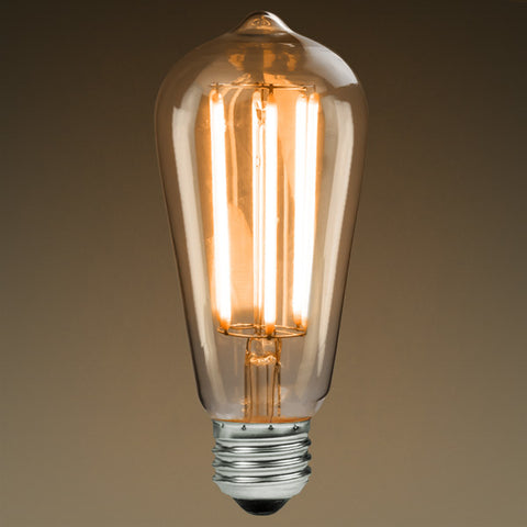 ST58 LED filament bulb by Edison Mills