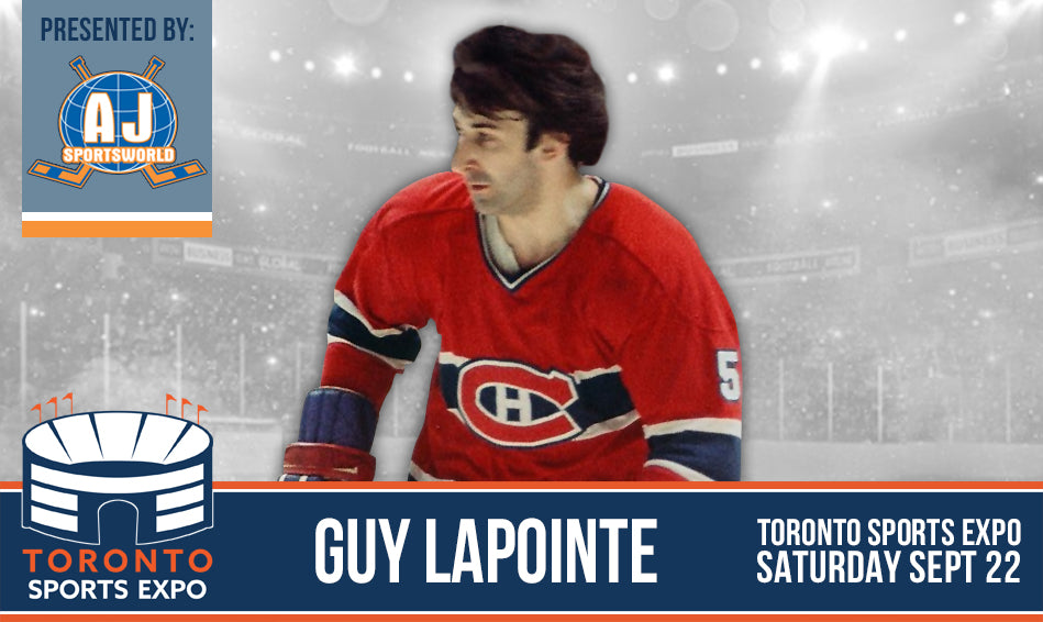 Guy Lapointe - Signing at Toronto Sports Expo