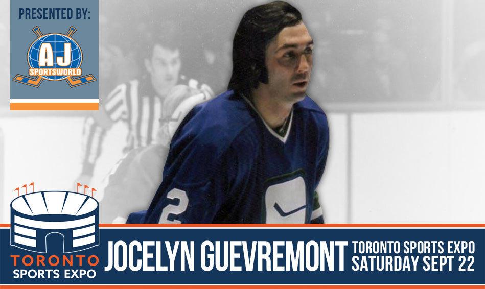 Jocelyn Guevremont - A.J. Sports World - Toronto Sports Expo Signing