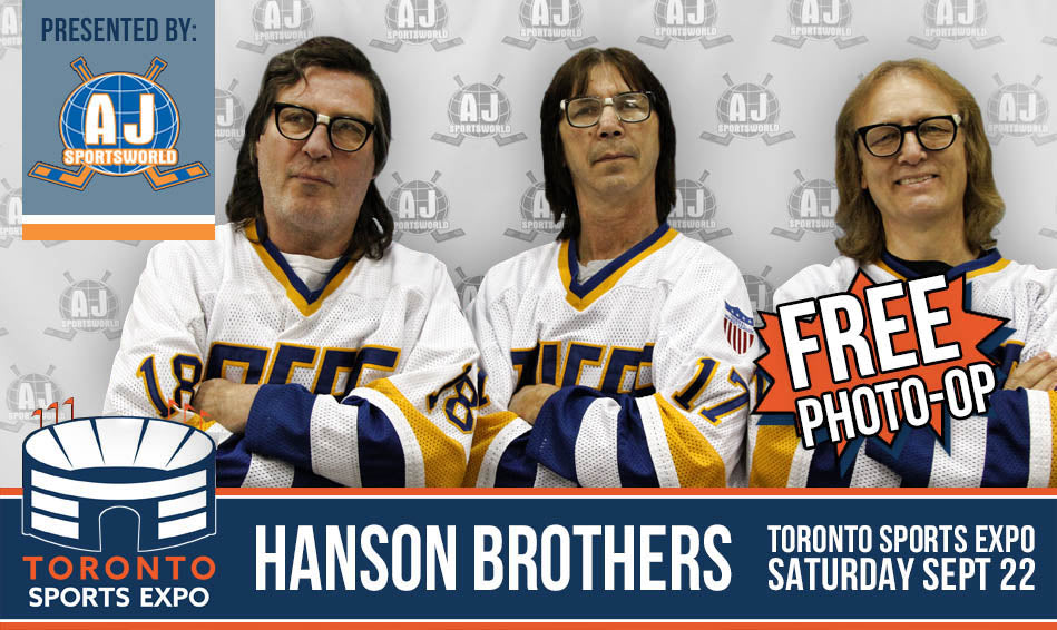 The Hanson Brothers - Signing at Toronto Sports Expo