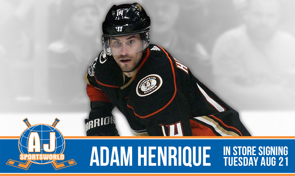 Adam Henrique - A.J. Sports World - In Store Signing