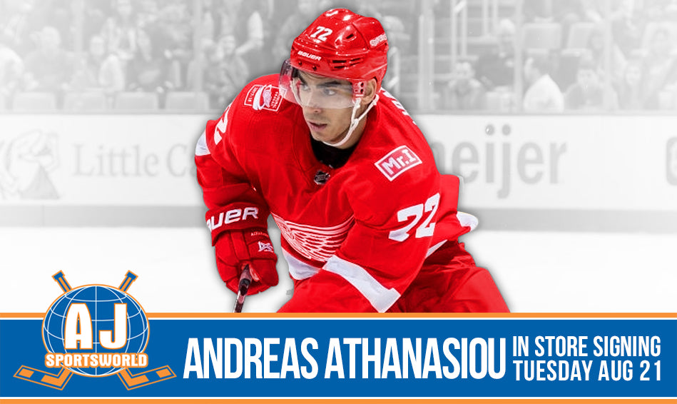 Andreas Athanasiou - A.J. Sports World - In Store Signing