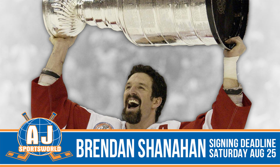 Brendan Shanahan - A.J. Sports World - Private Signing