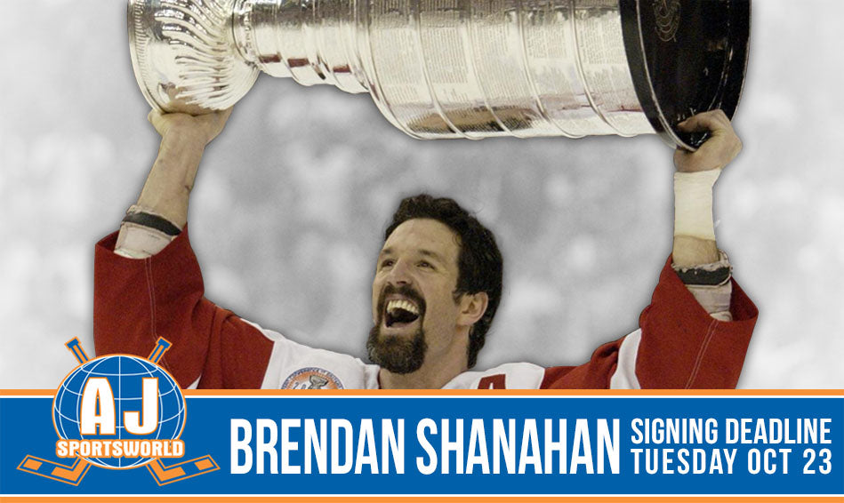 Brendan Shanahan Private Signing with A.J. Sports World