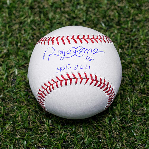 Roberto Alomar Autographed MLB Official Major League Baseball with HOF 2011