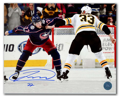 Josh Anderson Columbus Blue Jackets Autographed Fight 8x10 Photo