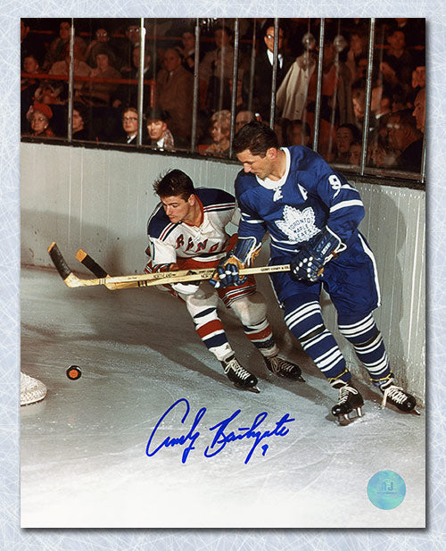Andy-Bathgate-Toronto-Maple-Leafs-Autographed-Action-8x10-Photo