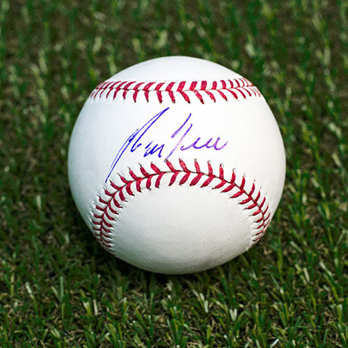 George Bell Autographed MLB Official Major League Baseball - Toronto Blue Jays