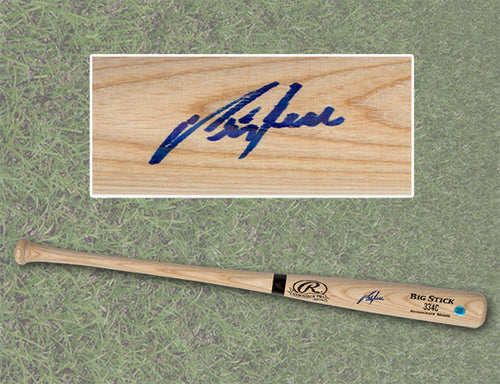 George Bell Autographed Rawlings Big Stick Baseball Bat - Toronto Blue Jays