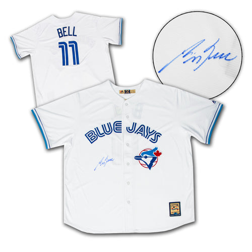 George Bell Toronto Blue Jays Autographed Retro MLB Baseball Jersey