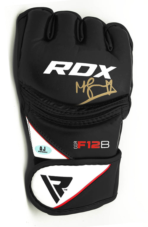 Michael Bisping UFC Autographed RDX Training Model MMA Glove