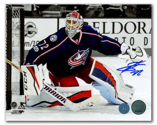 Sergei Bobrovsky Columbus Blue Jackets Autographed Spotlight 8x10 Photo