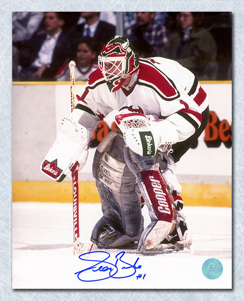 Sean Burke New Jersey Devils Autographed Goalie 8x10 Photo