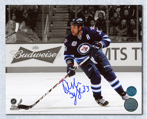 Dustin Byfuglien Winnipeg Jets Autographed Hockey Spotlight 8x10 Photo