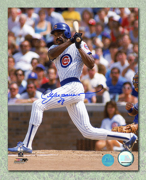 newest 709a4 4a1b7 Andre Dawson Chicago Cubs Autographed 8x10 Photo