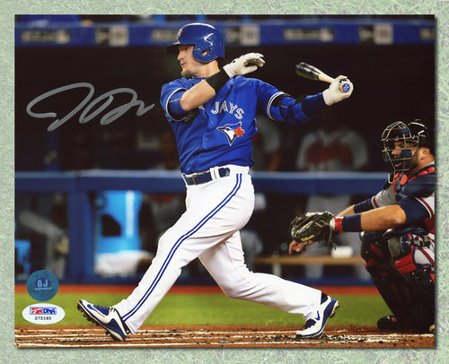 Josh Donaldson Toronto Blue Jays Autographed horizontal swing 8x10 Photo - PSA
