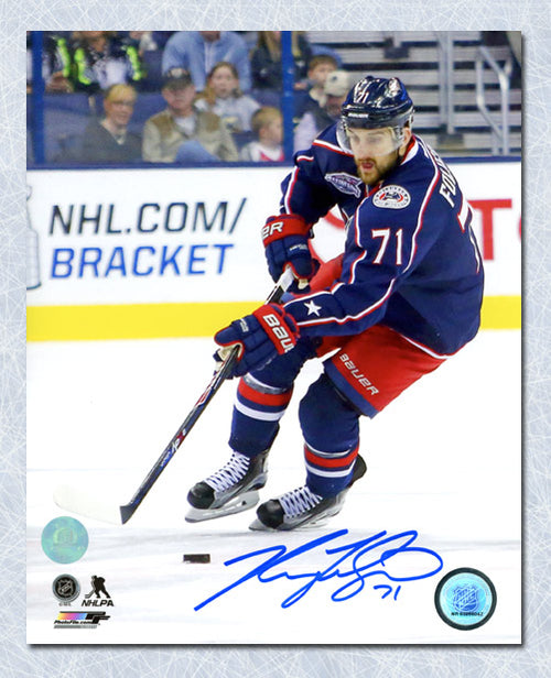 Nick Foligno Columbus Blue Jackets Autographed Playmaker 8x10 Photo
