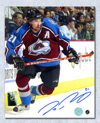 Peter Forsberg Colorado Avalanche Autographed NHL Hockey 8x10 Photo