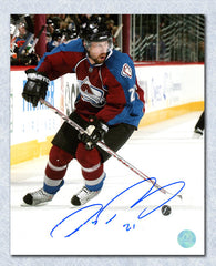 Peter Forsberg Colorado Avalanche Autographed Playmaker 8x10 Photo